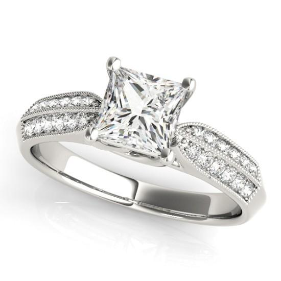 Luxury Diamonds Vancouver Trellis Diamond Engagement Ring