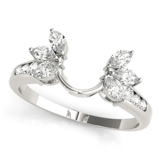 Luxury Diamonds Vancouver Wraps Inserts Wedding Ring Band For Women