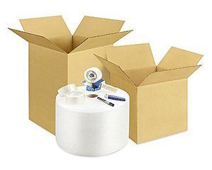 Midterm Madness Medium College Moving Boxes Kit - NYC