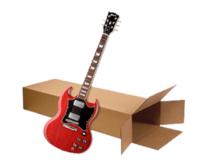 "Solid Body Electric Guitar Box 18"" x 6"" x 45"" (2.8 c/f)"