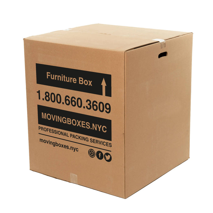 "Medium Furniture Moving Box 24"" x 24"" x 27"" (9.0 c/f)"
