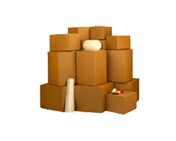 Four Bedroom Moving Boxes Essential Kit - NYC