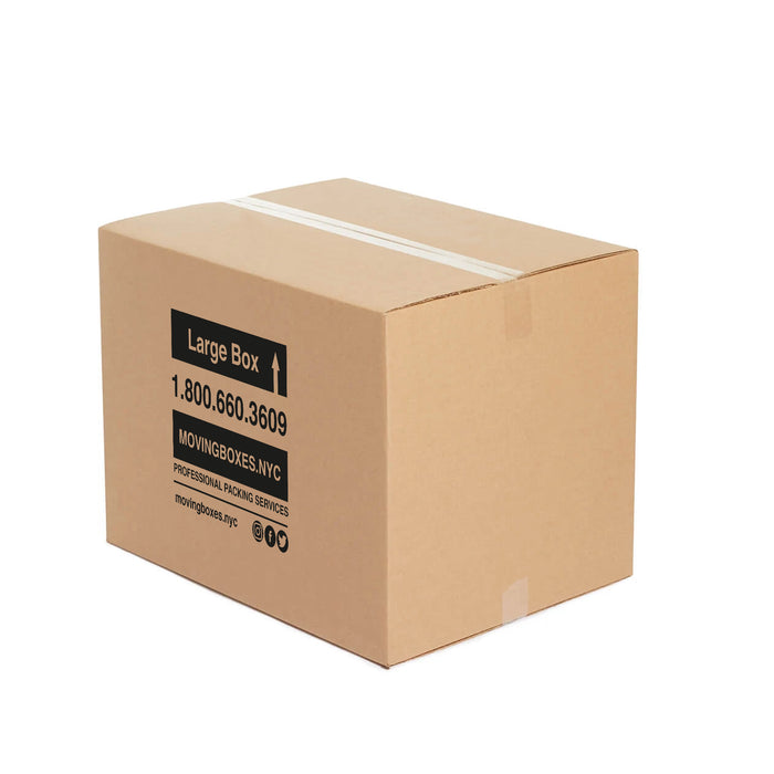 Large Moving Boxes - 24″ X 18″ X 18″ Pack Of 6