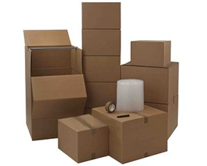 Working Overtime Small Size Office Moving Boxes Kit - NYC