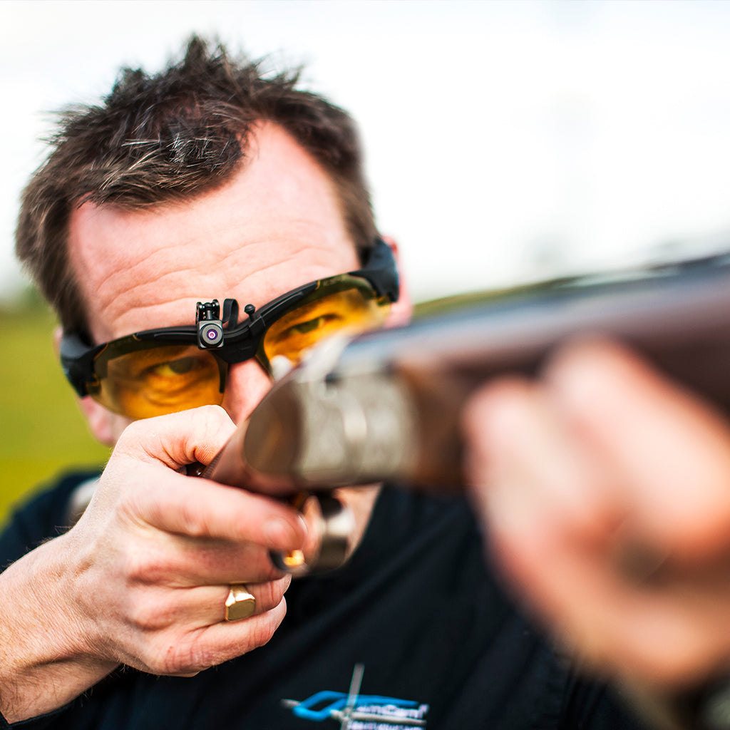 AimCam clay pigeon shooting