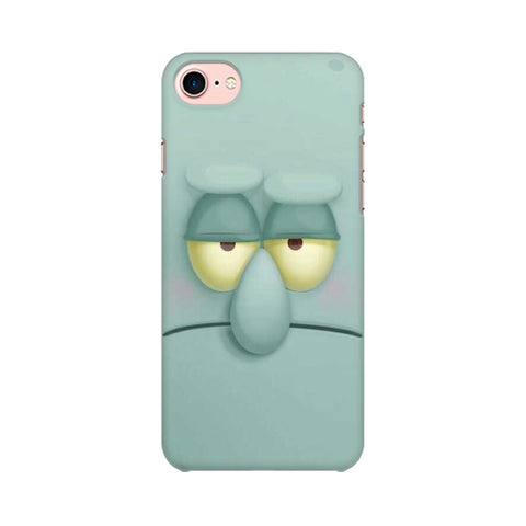 Squidward apple iphone 8 mobile cover