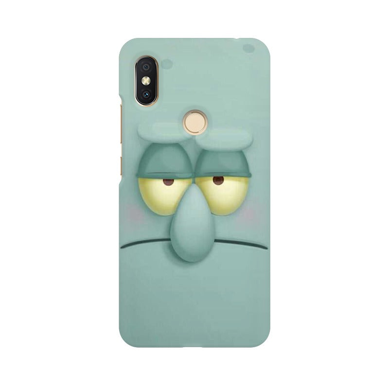 Squidward redmi y2 mobile cover