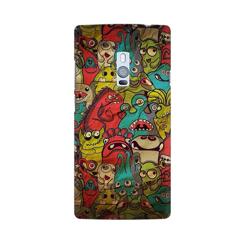 monsters jam OnePlus two mobile cover