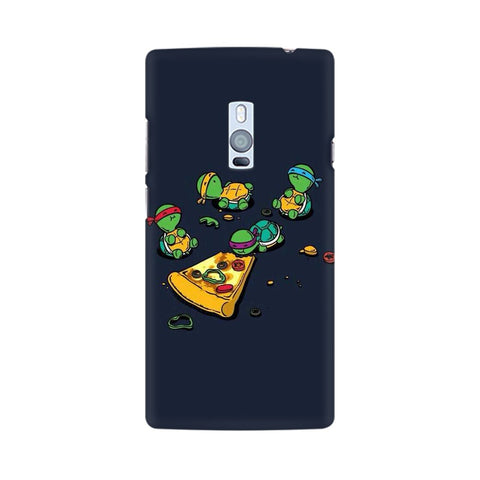 pizza time oneplus two mobile cover