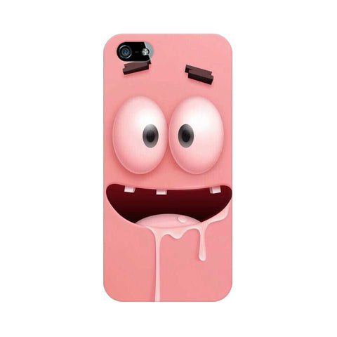 patrick apple iphone 5 mobile cover