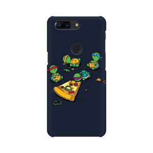pizza time oneplus 5t mobile cover