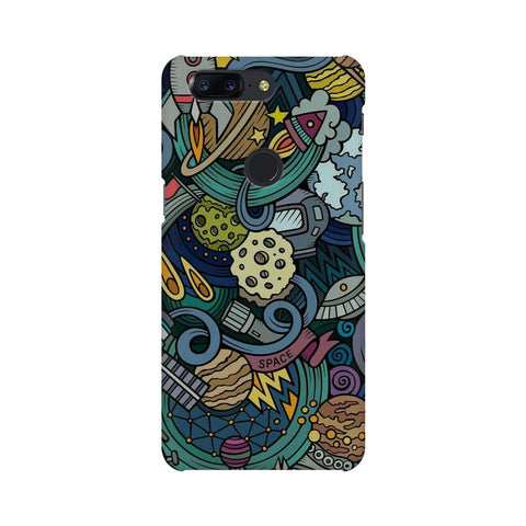 spacedoodle oneplus 5t  mobile case