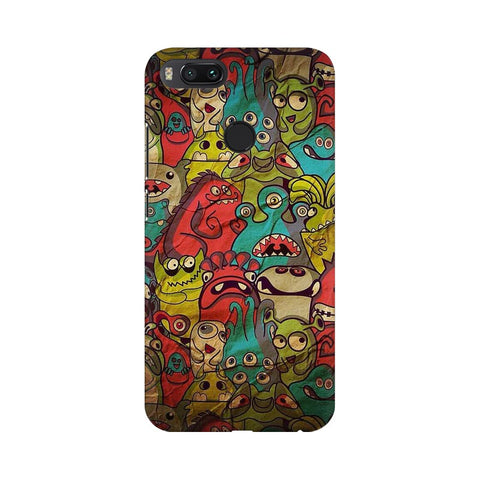 monsters jam xiaomi mi a1 mobile cover