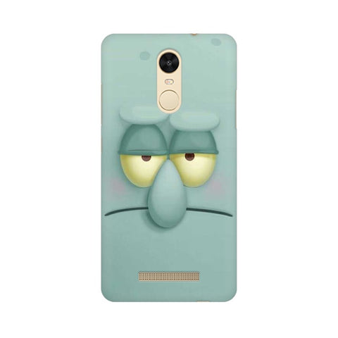 Squidward xiaomi redmi note 3 mobile cover