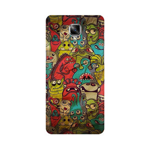 monsters jam OnePlus 3T mobile cover