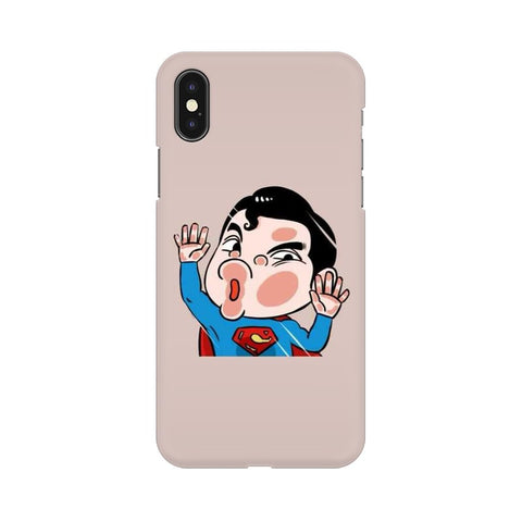 Superman Apple iPhone X cover