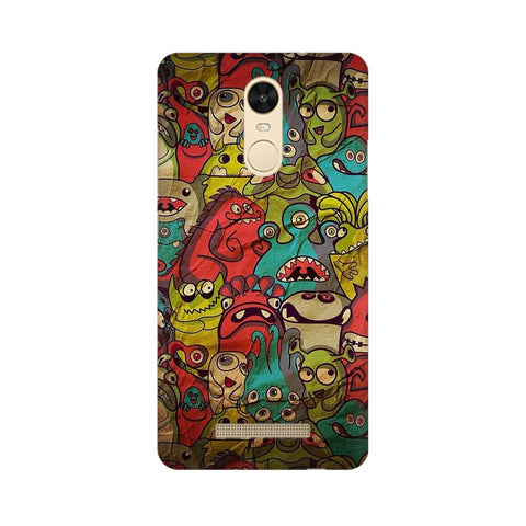 monsters jam Xiaomi Redmi Note 3 mobile cover