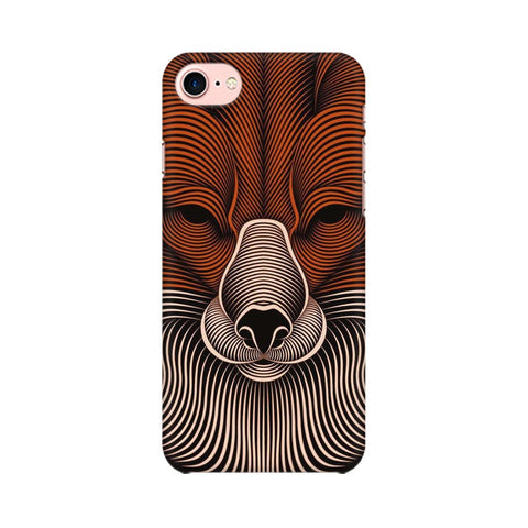 red fox apple iphone 7 mobile cover
