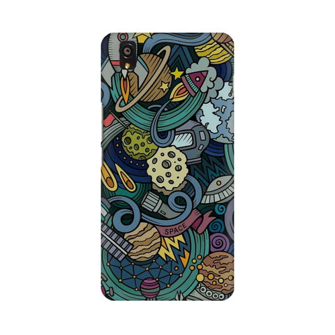 spacedoodle oneplus x  mobile case