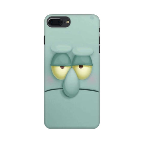 Squidward apple iphone 8 plus mobile cover