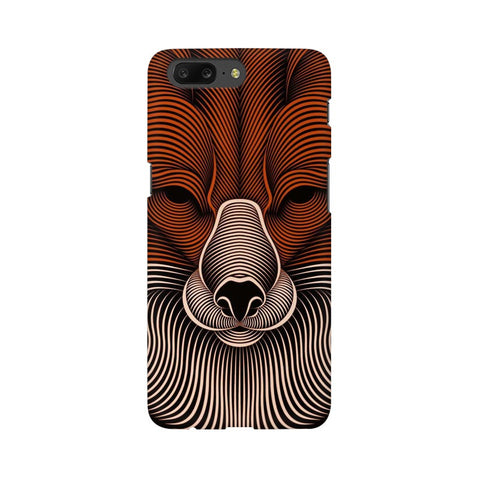 red fox oneplus 5 mobile cover