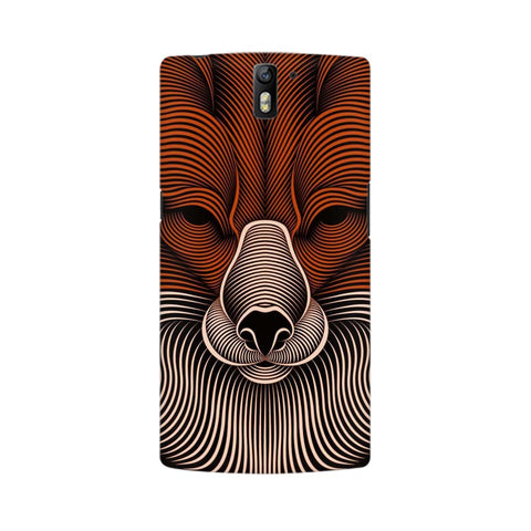 red fox oneplus one mobile case