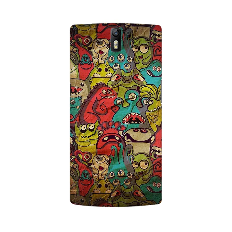 monsters jam OnePlus One mobile cover