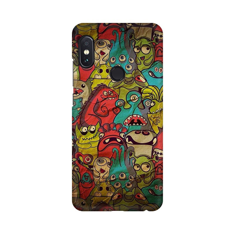 monsters jam Xiaomi Redmi Note 5 Pro mobile cover