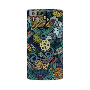 spacedoodle oneplus one  mobile case