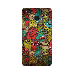 monsters jam xiaomi redmi 4 mobile cover