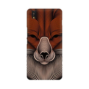 red fox oneplus X  mobile case