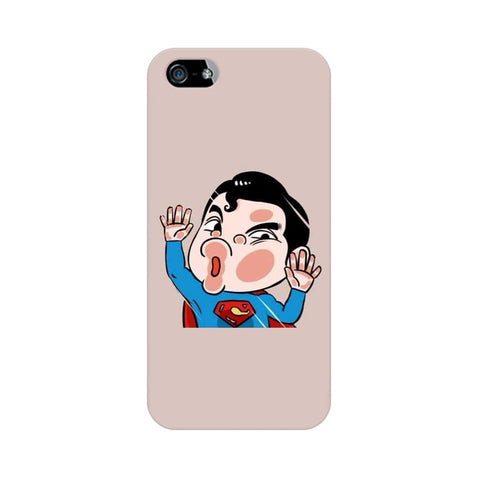 superman apple iphone SE mobile cover