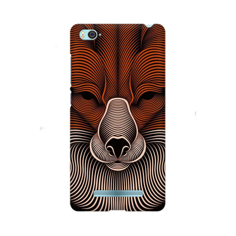 red fox xiaomi mi 4i mobile cover