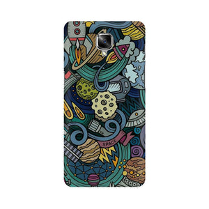 spacedoodle oneplus three  mobile case