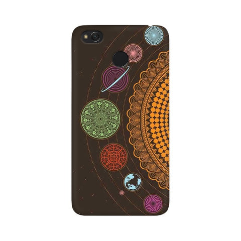 mandala Xiaomi Redmi 4 mobile cover