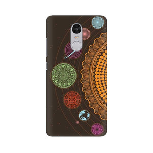 mandala Xiaomi Redmi Note 4 mobile cover