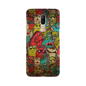 monsters jam oneplus 6 mobile cover