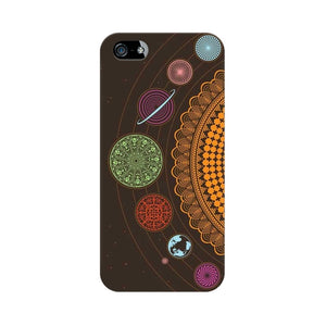 mandala apple iphone SE mobile cover