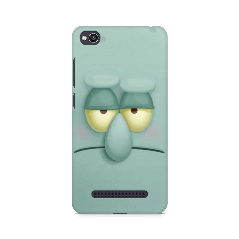 Squidward xiaomi redmi 4a mobile cover