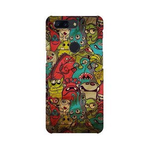 monsters jam OnePlus 5T mobile cover