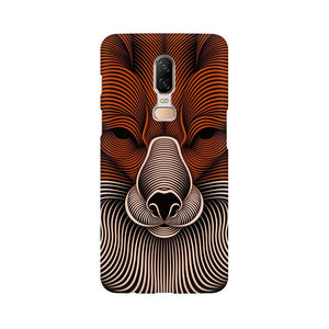 red fox oneplus 6  mobile case