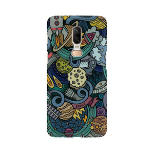 spacedoodle oneplus 6  mobile case