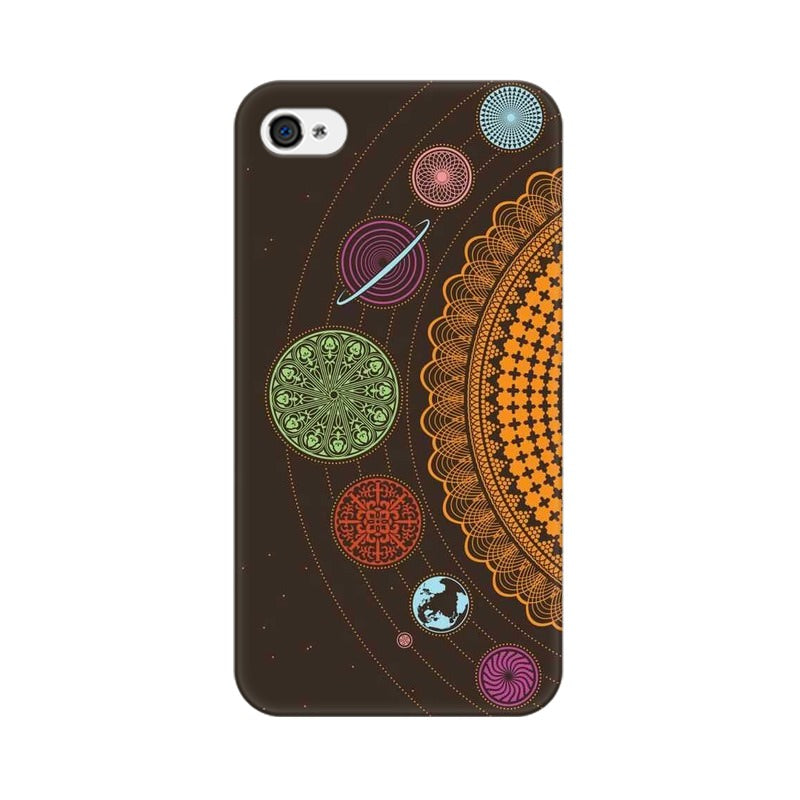 mandala apple iphone 4 mobile cover