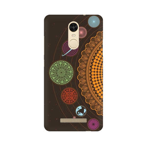 mandala Xiaomi Redmi Note 3 mobile cover