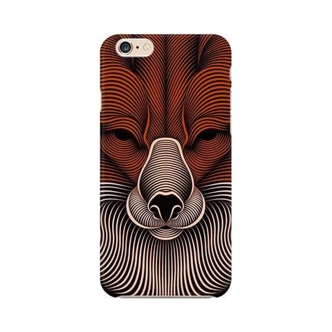 red fox apple iphone 6 mobile cover