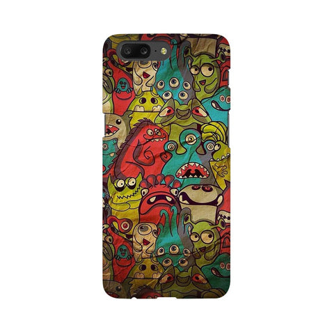 monsters jam oneplus 5 mobile cover
