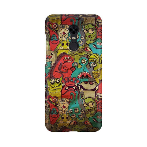 monsters jam Xiaomi Redmi Note 5 mobile cover