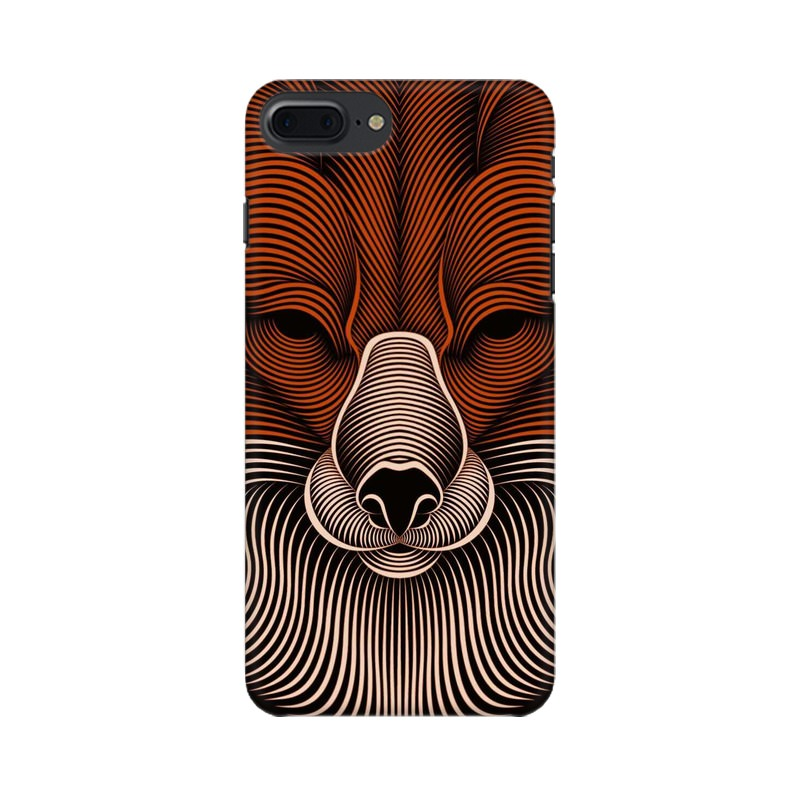 red fox apple iphone 7 plus mobile cover