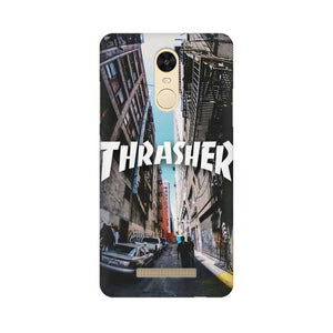 Thrasher xiaomi redmi note 3 mobile cover