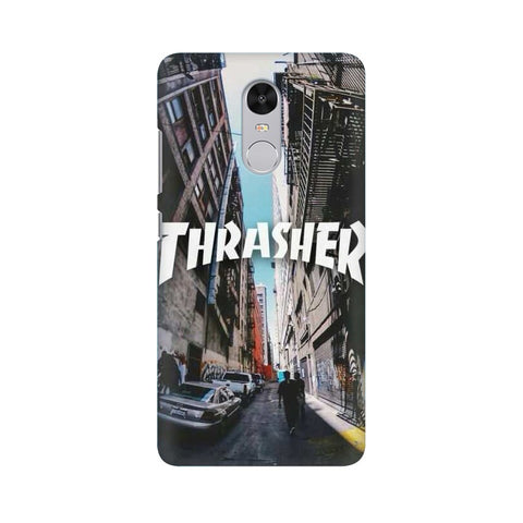 Thrasher xiaomi redmi note 4 mobile cover